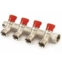 коллектор-с-вентилями-3-4х1-2-4-выхода-красный